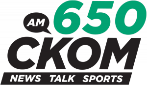650 CKOM Logo